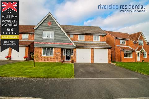 4 bedroom detached house for sale - Cranberry Drive, Fatfield, Washington, Tyne and Wear, NE38