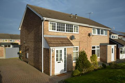 2 bedroom semi-detached house for sale - Devon Close, Grassmoor, Chesterfield, S42 5DY