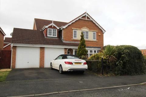 4 bedroom detached house for sale - Longhirst Drive, Southfield Gardens, Cramlington