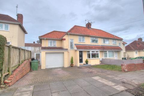 4 bedroom semi-detached house for sale - Larchwood Gardens , Lobley Hill, Gateshead, NE11 0DT