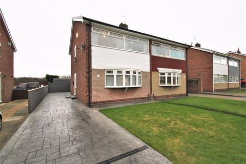 3 bedroom semi-detached house for sale - Ashton Road, The Glebe, Norton, TS20 1QW