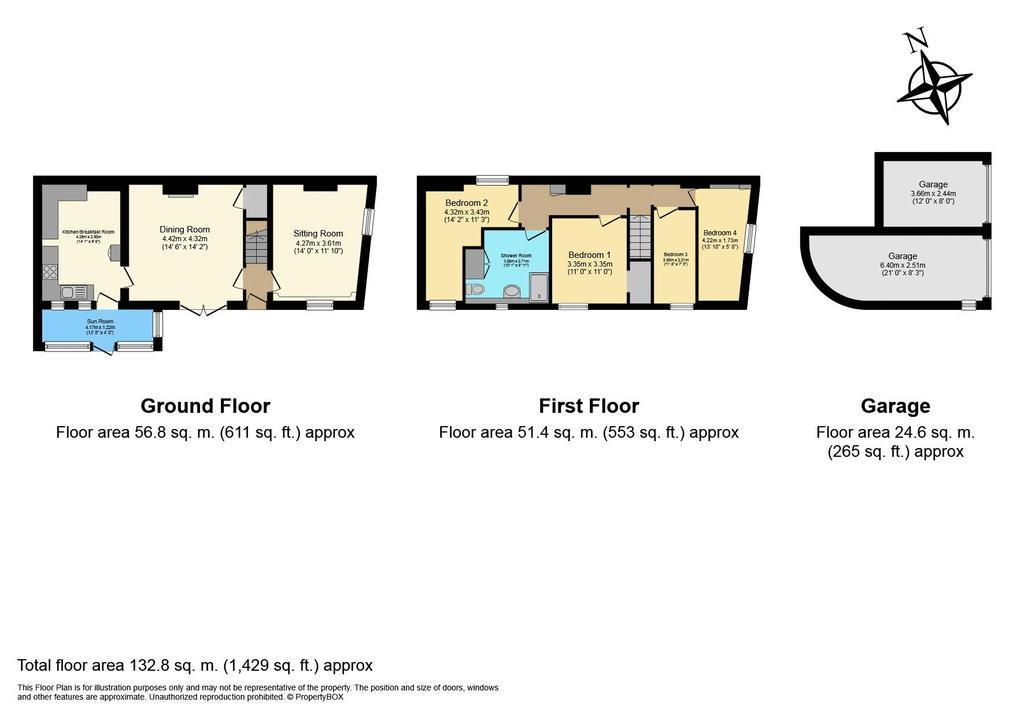 Floorplan: 46 High Street...