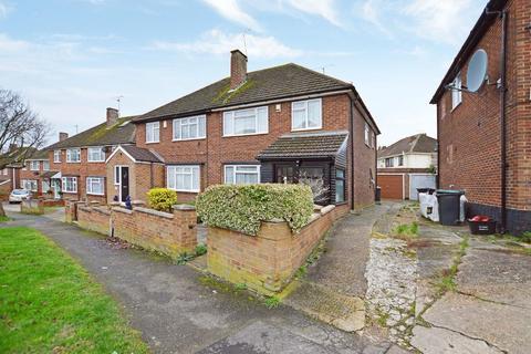 3 bedroom semi-detached house for sale - Cheviot Road, Sundon Park, Luton, Bedfordshire, LU3 3DQ