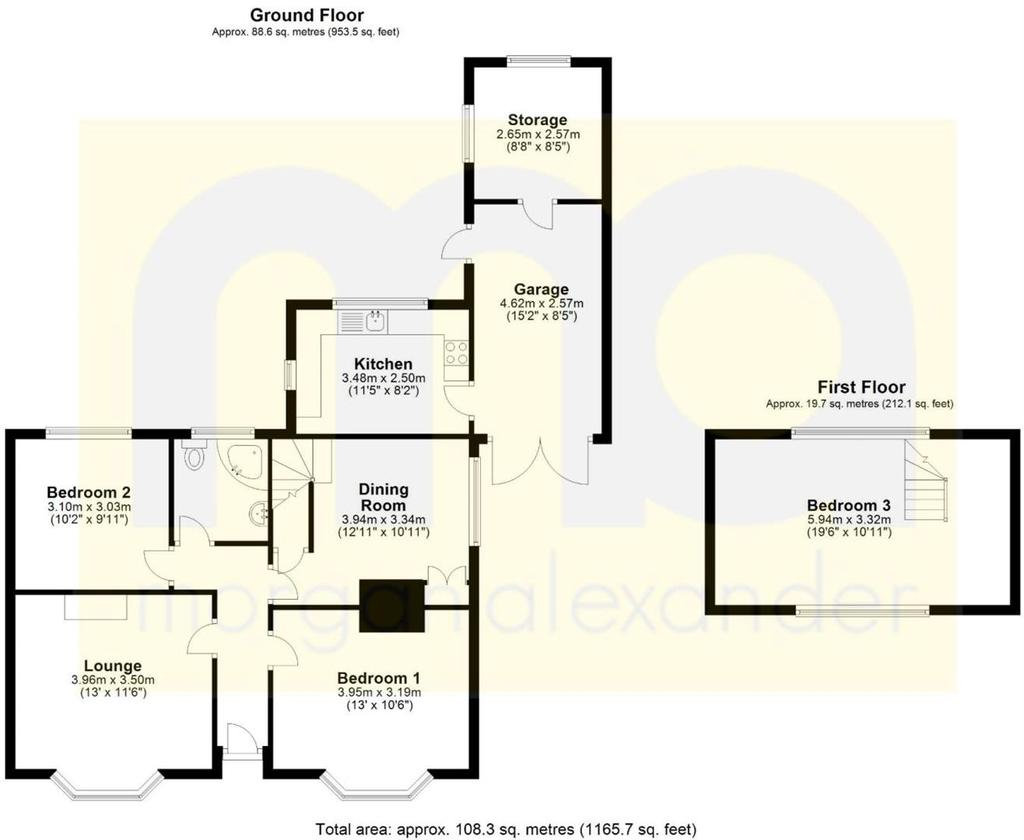 Floorplan: North Road Floorplan