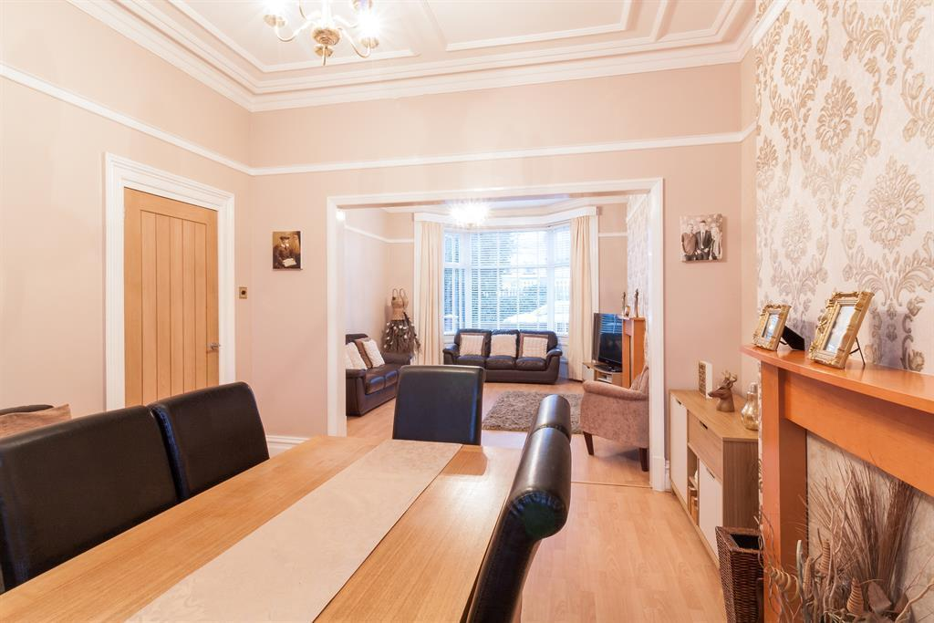Dining through to Living Room