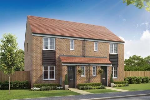 3 bedroom semi-detached house for sale - Plot 156, The Hanbury at St James Park, Minchens Lane RG26