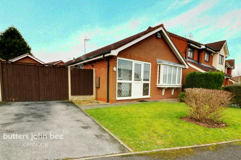 2 bedroom detached bungalow for sale - Redwing Drive, Cannock