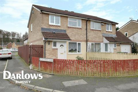 3 bedroom semi-detached house for sale - Laureate Close , llanrumney, Cardiff