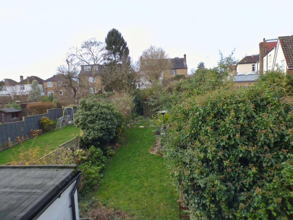 View over garden from rear bedoom