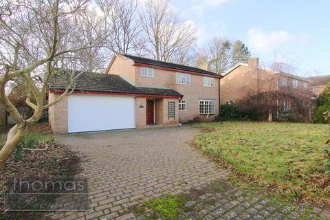 4 bedroom detached house for sale - Stonewalls, Burton, Rossett, LL12
