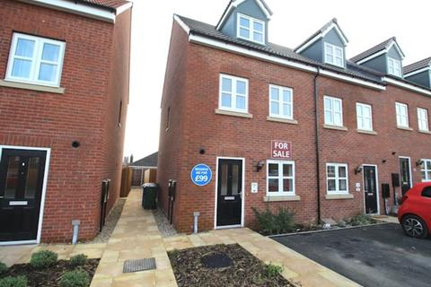3 bedroom townhouse for sale - Collinson Close, Heartlands, Driffield