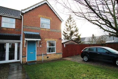 2 bedroom semi-detached house for sale - Milburn Way, Howden Le Wear