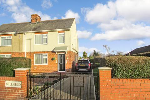 3 bedroom semi-detached house for sale - Millfield, Bedlington, Northumberland, NE22 5EA