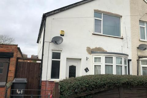 2 bedroom semi-detached house to rent - Edgehill Road, Leicester