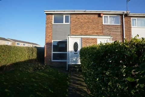 2 bedroom end of terrace house to rent - The Paddock, Killingworth
