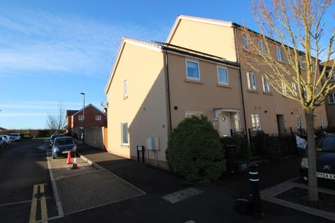 3 bedroom end of terrace house for sale - Wood Mead, Cheswick Village