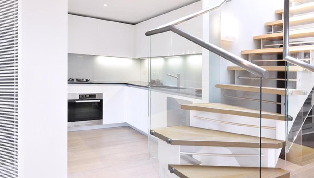 Stairwell/Kitchen
