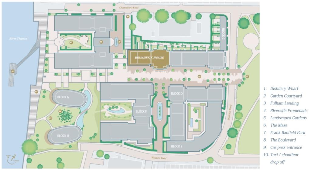 Brunswick site plan