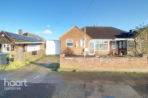 2 bedroom semi-detached bungalow for sale - Hall Road, Leicester
