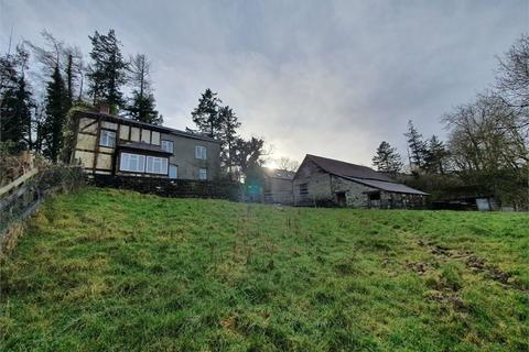 3 bedroom property with land for sale - Commins Coch, Machynlleth, Powys