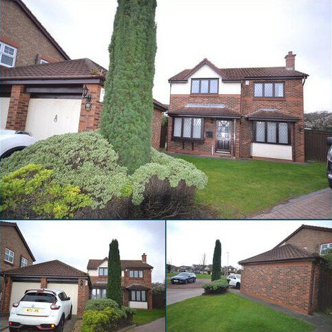 4 bedroom detached house to rent - Chichester Close, Kings Meadow, Hartlepool, Durham, TS25