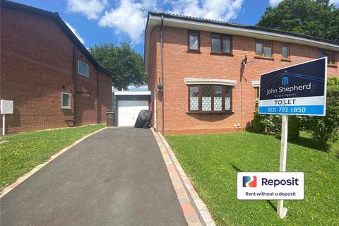 2 bedroom semi-detached house to rent - Kinsham Drive, Solihull, West Midlands, B91
