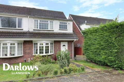 3 bedroom semi-detached house for sale - Glyn Rhosyn, Pentwyn, Cardiff, CF23