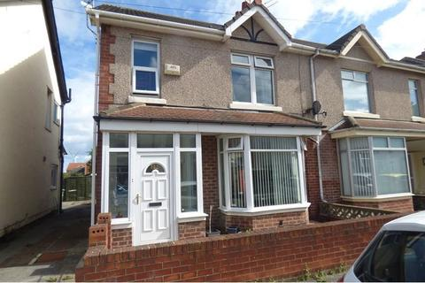 3 bedroom semi-detached house for sale - Plessey Avenue, Blyth, Northumberland, NE24 3JR