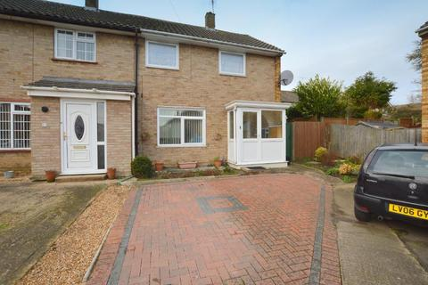 2 bedroom end of terrace house for sale - Braintree Close, Lewsey Farm, Luton, Bedfordshire, LU4 0QX