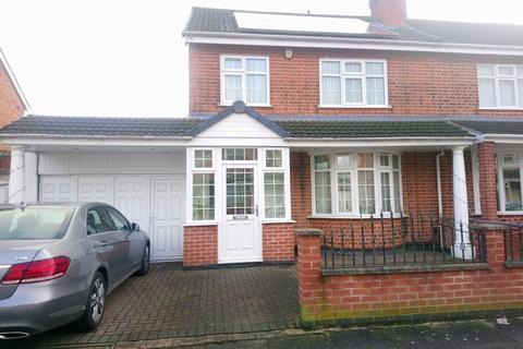 4 bedroom semi-detached house to rent - Strathmore Avenue, Leicester