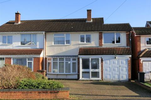 5 bedroom semi-detached house for sale - Kingfield Road, Solihull Lodge, Solihull