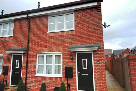 2 bedroom terraced house to rent - Mallard Close, Leicester
