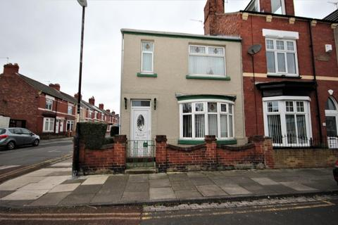 3 bedroom end of terrace house for sale - Thornville Road, Hartlepool