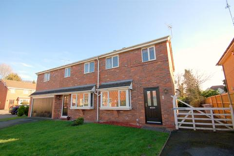3 bedroom semi-detached house for sale - Herrick Close, Wistaston, Crewe