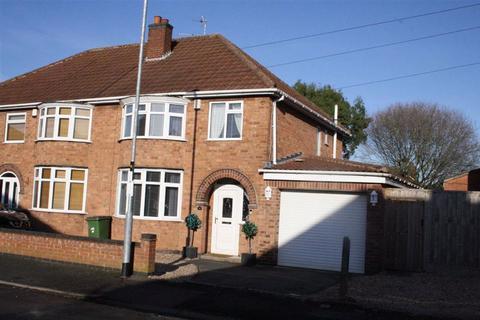 3 bedroom semi-detached house for sale - Wellesbourne Drive, Glenfield