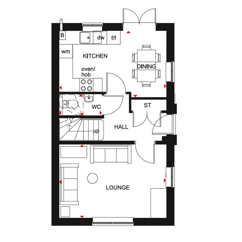 Floorplan 2 of 2: GF moresby floor plan