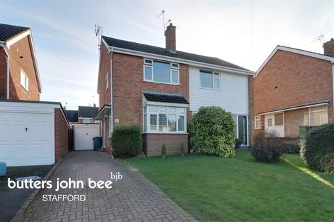 2 bedroom semi-detached house for sale - Wordsworth Avenue, Stafford