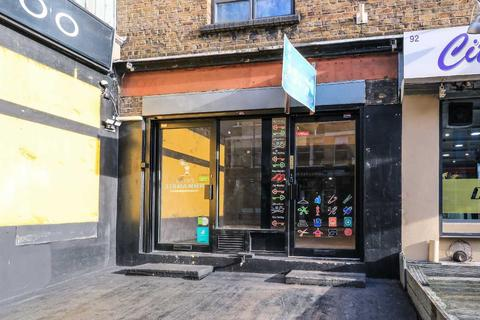 Retail property (high street) to rent - Curtain Road , shoreditch, Shoreditch