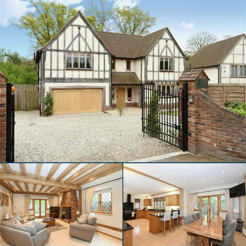 5 bedroom detached house for sale - Trumpsgreen Road, Virginia Water