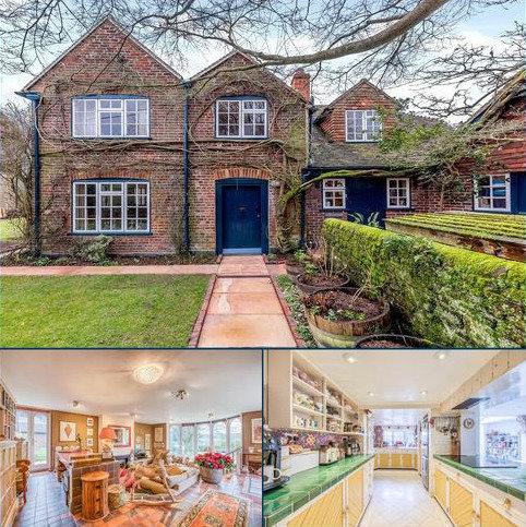 5 bedroom detached house for sale - Dye House Road, Thursley, Godalming, Surrey, GU8