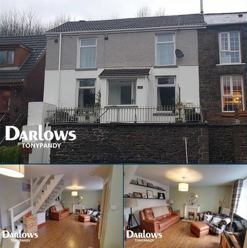 2 bedroom semi-detached house for sale - Ystrad Road, Pentre