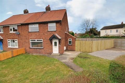 3 bedroom semi-detached house for sale - West End, South Cave, Brough, East Yorkshire, HU15
