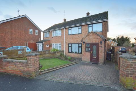 3 bedroom semi-detached house for sale - Gelding Close, Lewsey Farm, Luton, Bedfordshire, LU4 0TZ