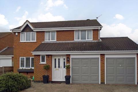 4 bedroom detached house for sale - Frobisher Close, Hinckley