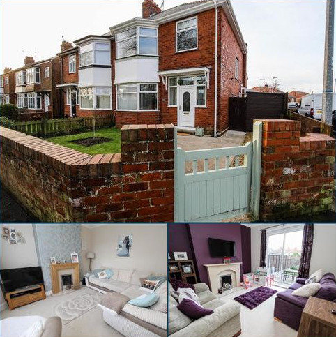 3 bedroom semi-detached house for sale - St Marys Crescent, Bridlington
