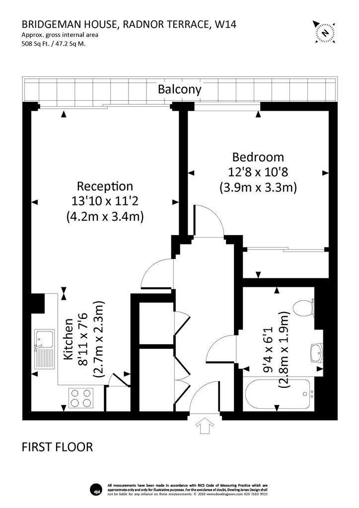 Floorplan: 9 bridgeman house...