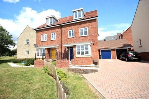 4 bedroom semi-detached house to rent - Hull Road, Nightingale Rise, Moredon, Swindon, SN2
