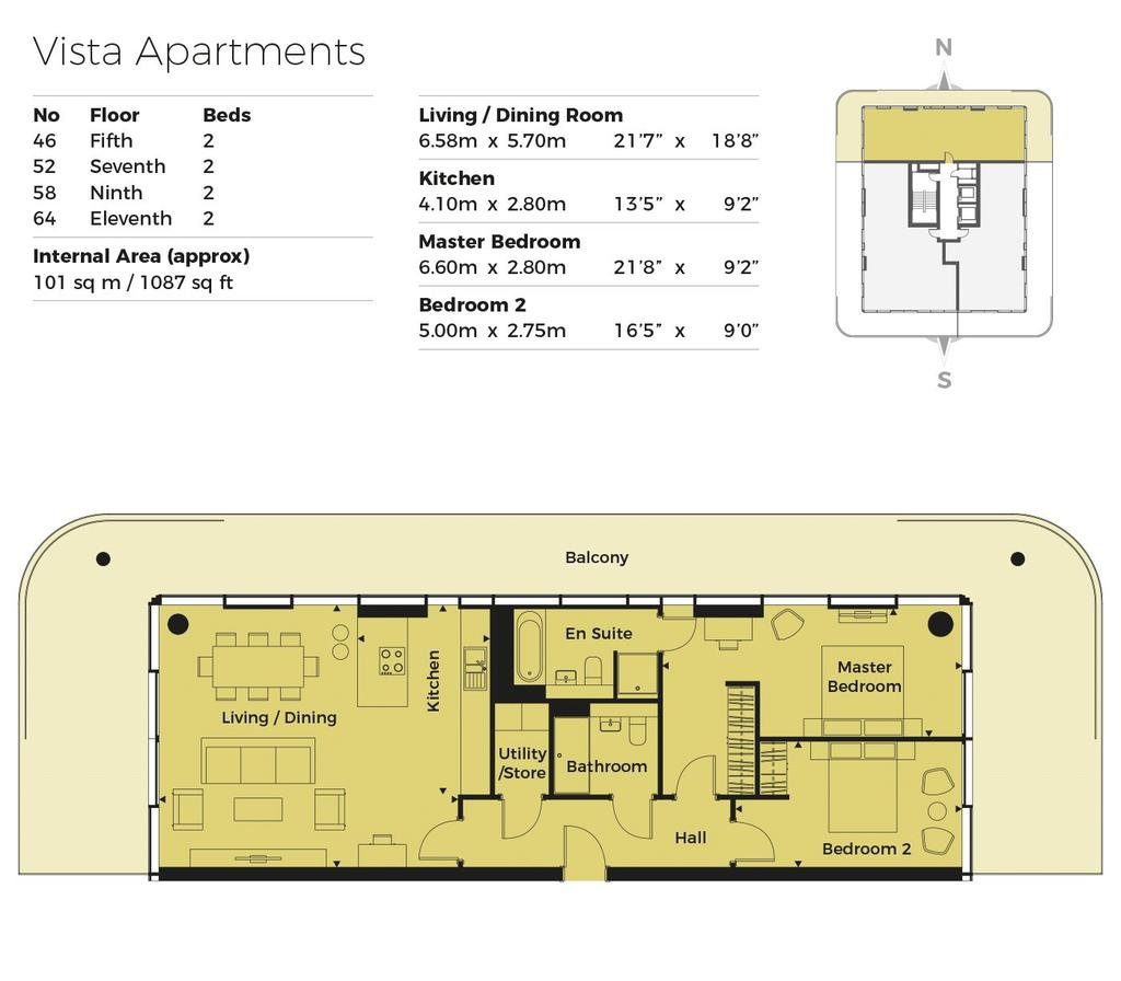 Bayside Apartments, 62 Brighton Road, Worthing, West
