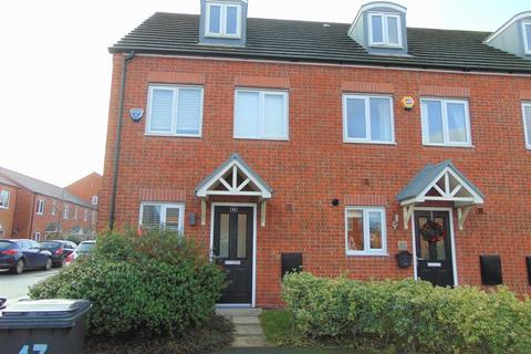 3 bedroom end of terrace house for sale - Magazine Road, Bromborough