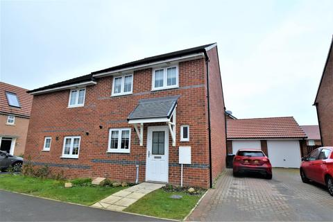 3 bedroom semi-detached house for sale - Lotherton Drive, Spennymoor